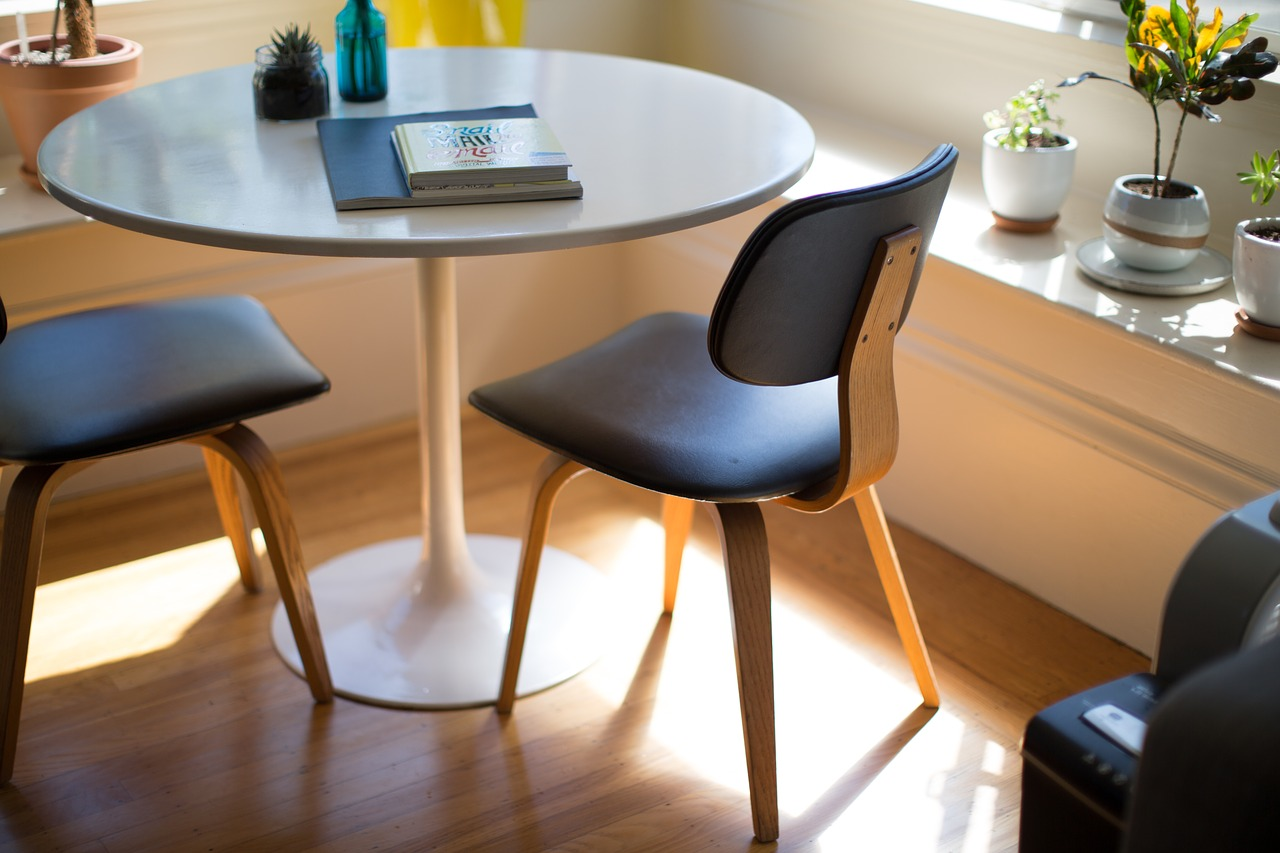Wooden Study Table & Chairs